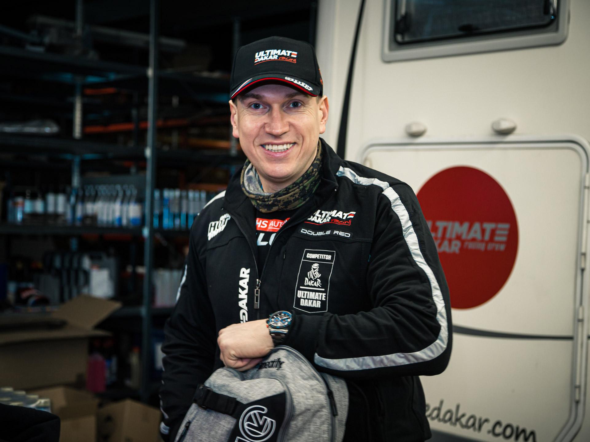 Obrázek galerie Kšiltovka Ultimate Dakar Racing - kolekce 2021 - černá