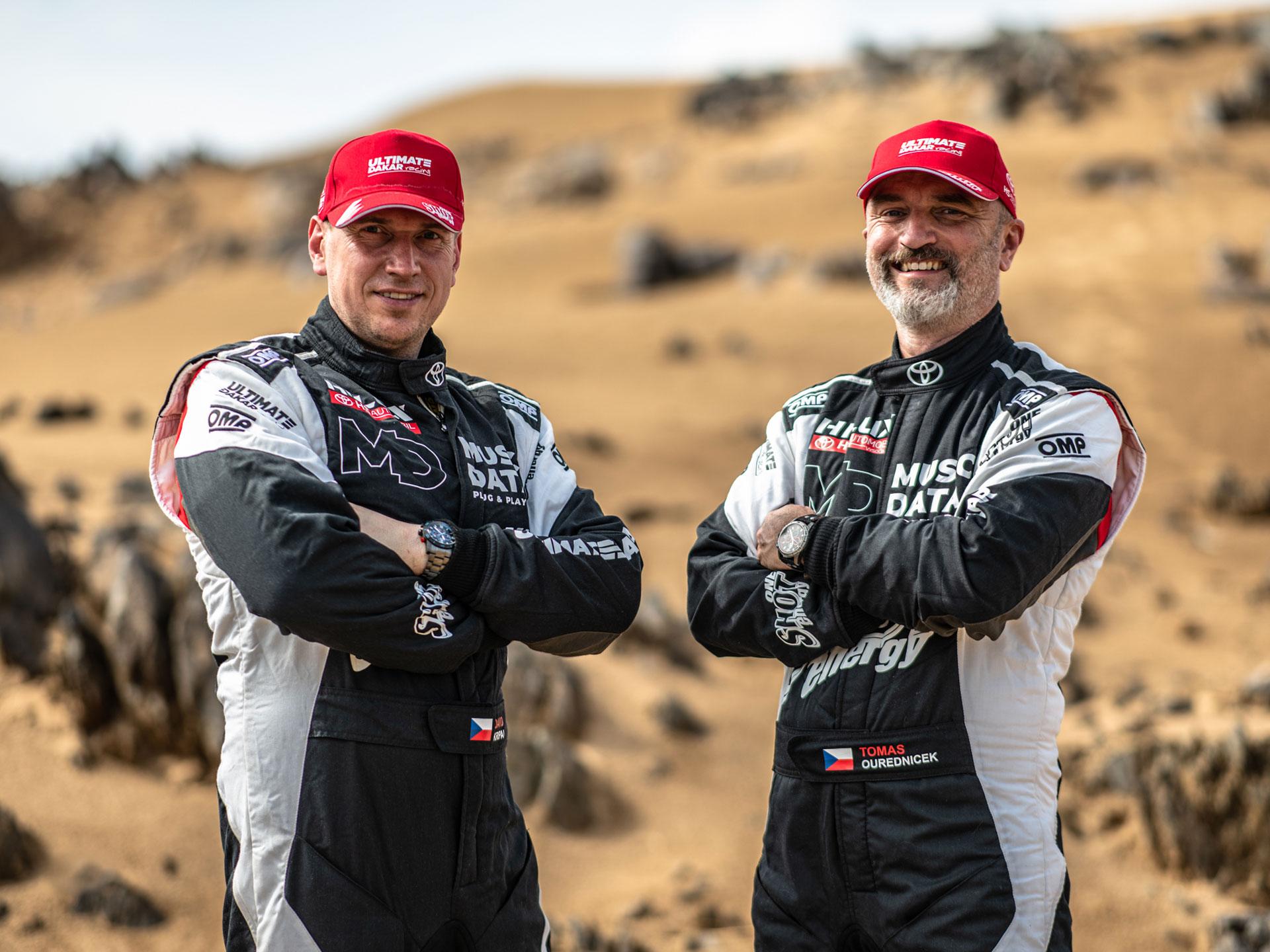 Obrázek galerie Kšiltovka Ultimate Dakar Racing - kolekce 2021 - červená