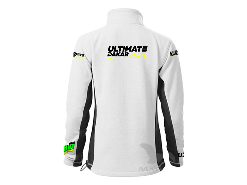 Obrázek galerie Mikina Ultimate Dakar Racing - Dámská bílá - M