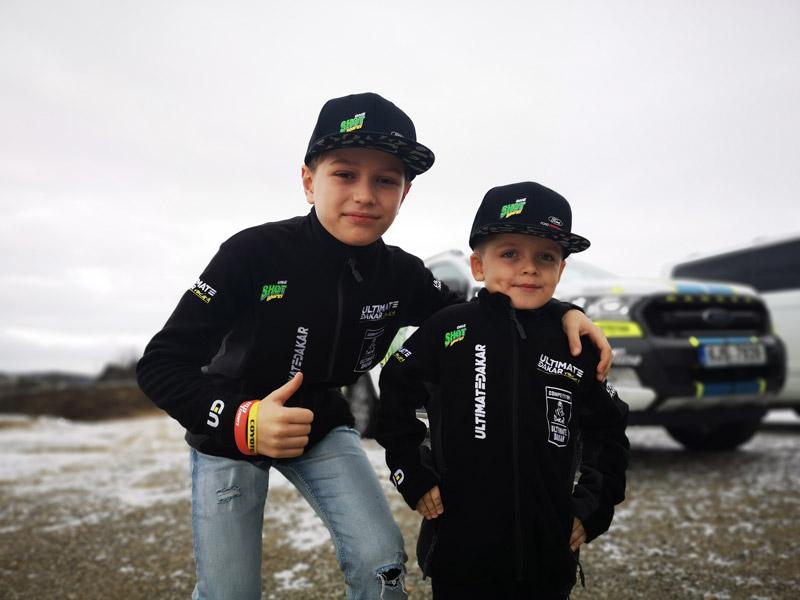 Obrázek galerie Mikina Ultimate Dakar Racing - Dětská černá - 6YO