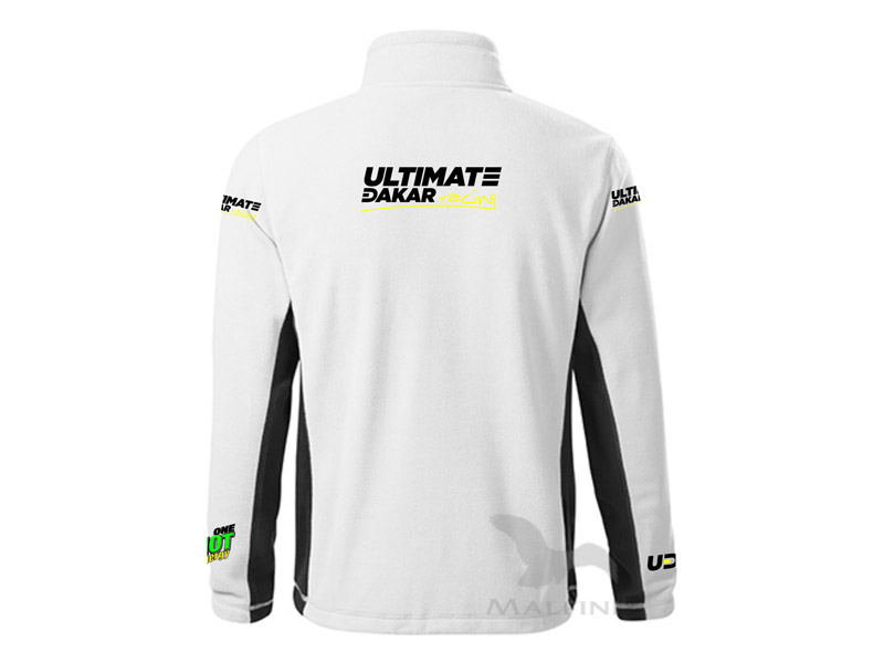 Obrázek galerie Mikina Ultimate Dakar Racing - Pánská bílá - XL