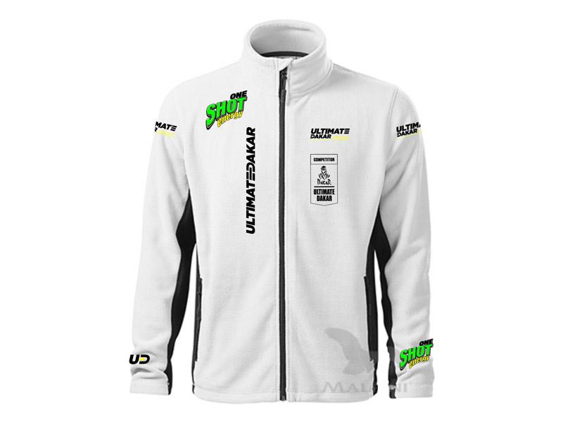 Obrázek galerie Mikina Ultimate Dakar Racing - Pánská bílá - XXL