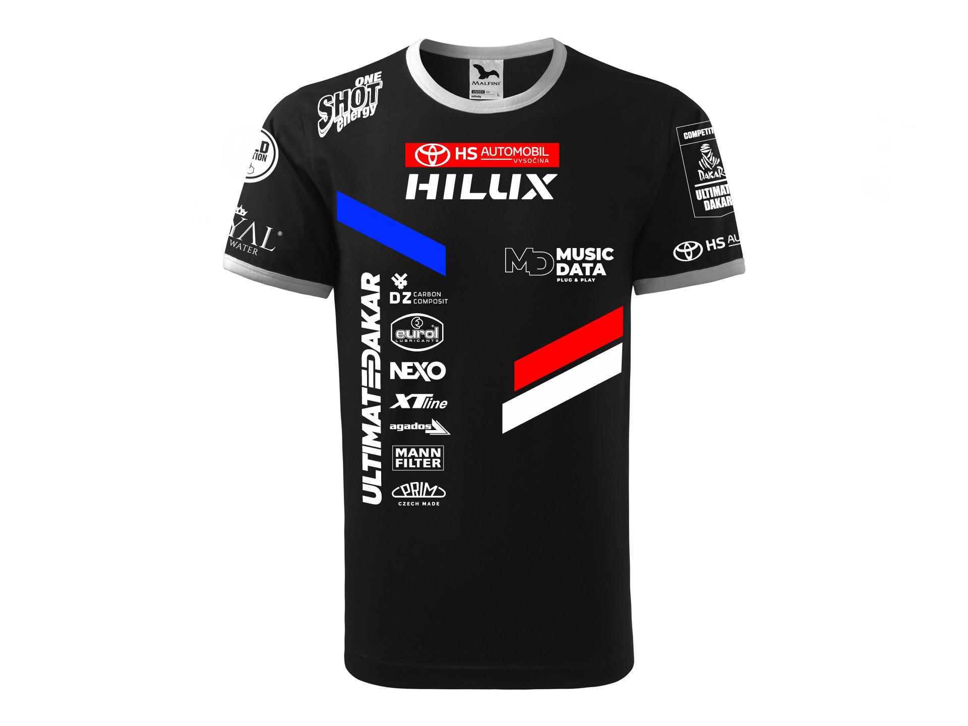 Obrázek galerie Tričko Ultimate Dakar Racing - Kolekce 2021 - Unisex - M