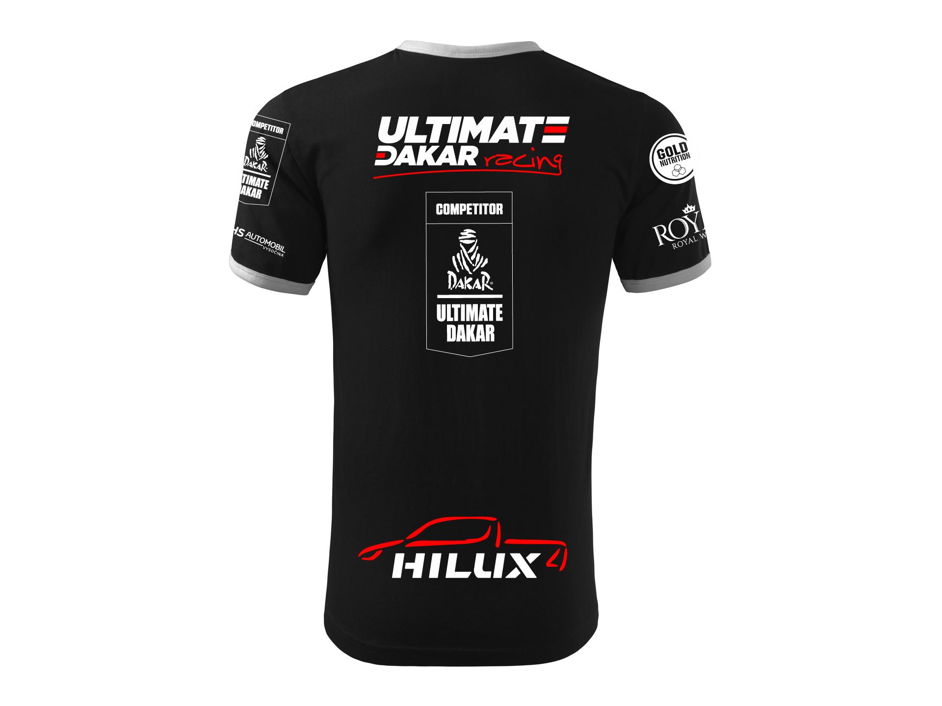 Obrázek galerie Tričko Ultimate Dakar Racing - Kolekce 2021 - Unisex - S