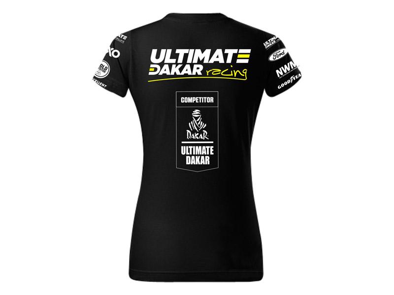 Obrázek galerie Tričko Ultimate Dakar Racing - Dámské - XS