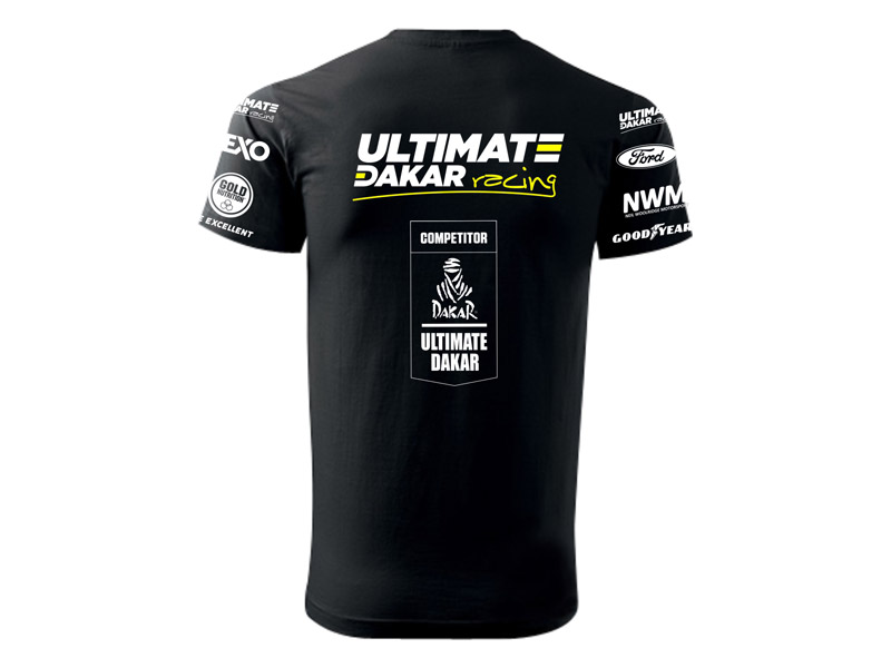 Obrázek galerie Tričko Ultimate Dakar Racing - Pánské - S