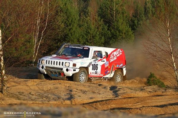 Ultimate Dakar v Maďarsku s prestižním číslem 3