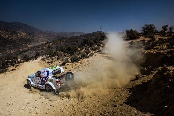 Slibný začátek pro Buggyra Ultimate Dakar v Maroku