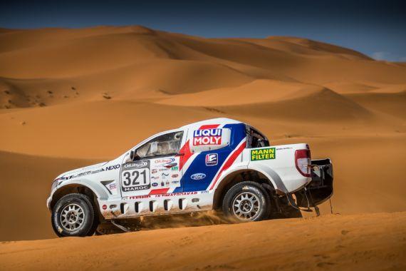 Rozbitá převodovka sebrala posádce Buggyra Ultimate Dakar šance na dobrý výsledek