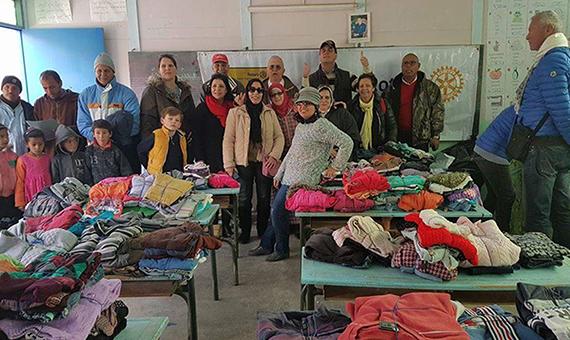 Pomáháme marockým dětem. Pomáhejte s námi!
