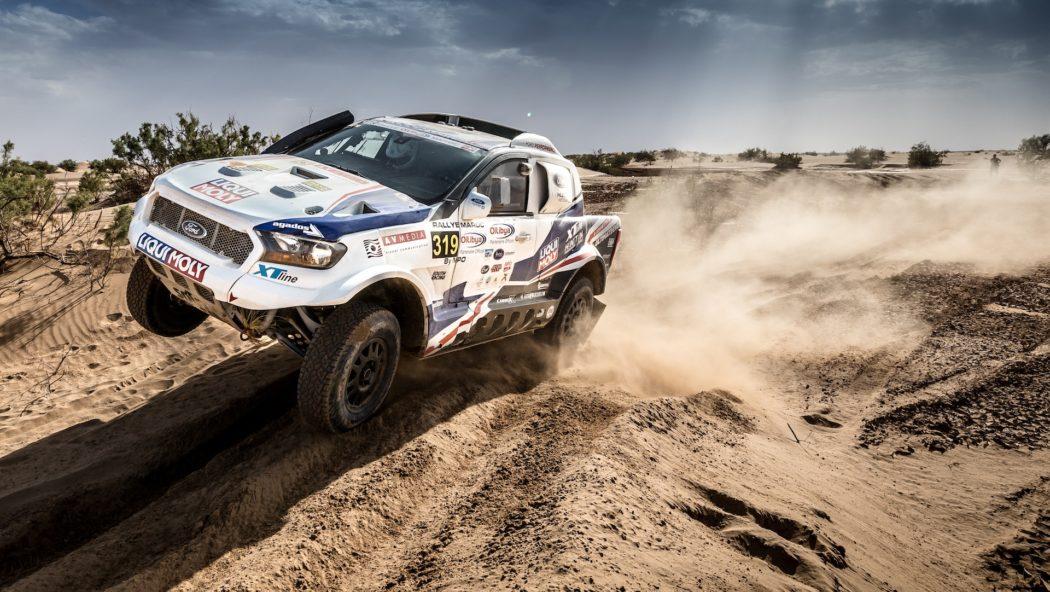 Poslední šance dotknout se Dakaru