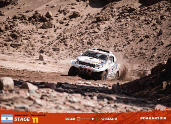Obrázek galerie Dakar 2018 - etapa 11