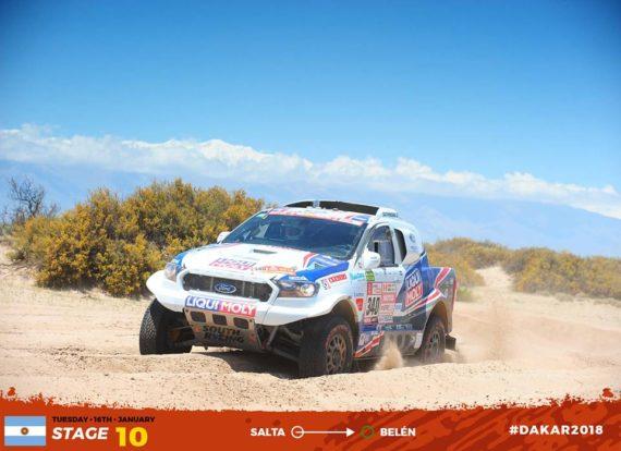 Obrázek galerie Dakar 2018 - etapa 10