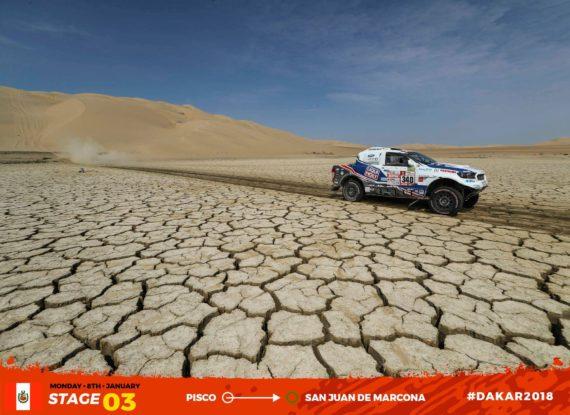 Obrázek galerie Dakar 2018 - etapa 3