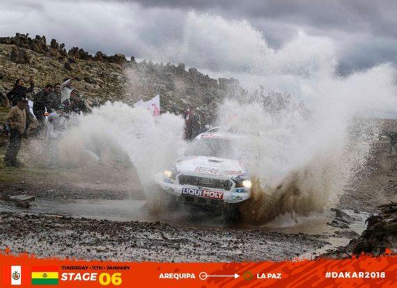 Obrázek galerie Dakar 2018 - etapa 6