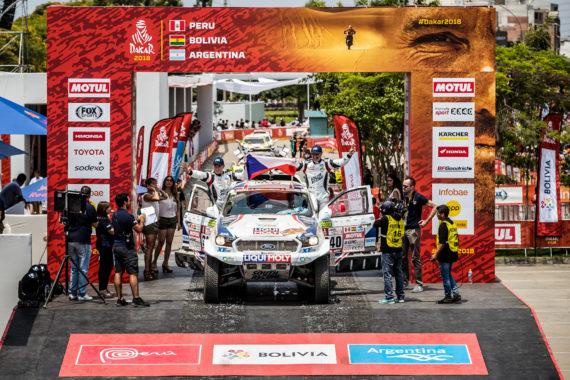 Obrázek galerie Dakar 2018 - etapa 1