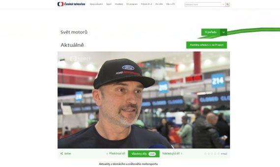 Dakar 2018 - South Racing ve vysílání České televize a rádia Beat