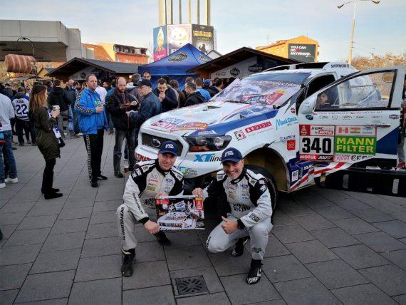 HC Kometa Brno byla na Dakaru