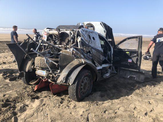 Obrázek galerie Nehoda Morocco Desert Challenge 2018