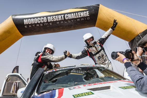 Posádka Ouředníček - Křípal na největším africkém závodě rallye
