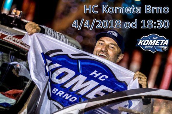 South Racing na utkání HC Kometa Brno 4.4.2018
