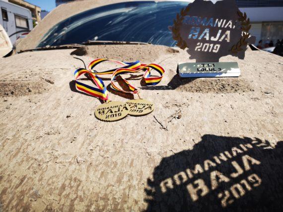 Obrázek galerie BAJA500 - Medaile za náročný test v Rumunsku
