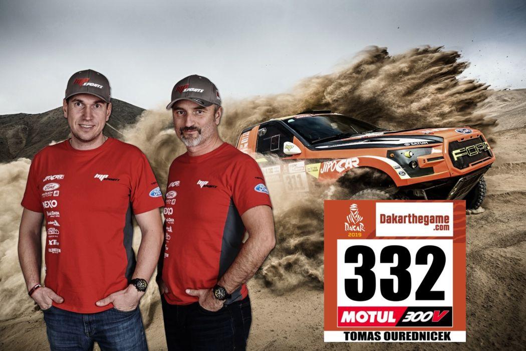 Dakar 2019 - máme číslo 332!