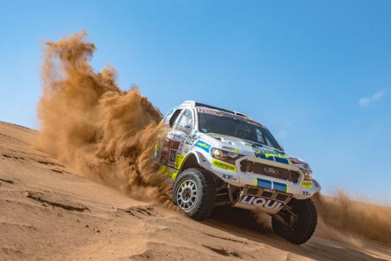 Obrázek galerie Hektické přípravy na Dakar 2020