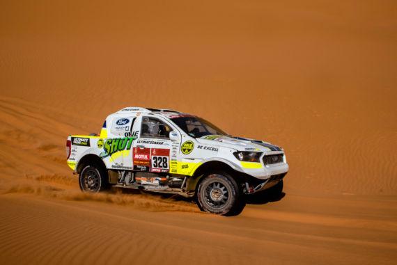 Obrázek galerie Osmá etapa Rallye Dakar: Motorky nejely, Ouředníček sKřípalem startovali brzy ráno vnezvyklém chladnu
