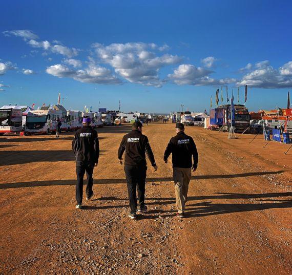 Obrázek galerie Třetí etapa Rallye Dakar: Posádka Ouředníček – Křípal atakovala nejrychlejší dvacítku aut