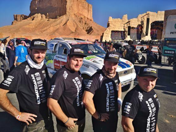 Obrázek galerie Rallye Dakar 2020: Ouředníček s Křípalem mezi největšími srdcaři ročníku v Saudské Arábii