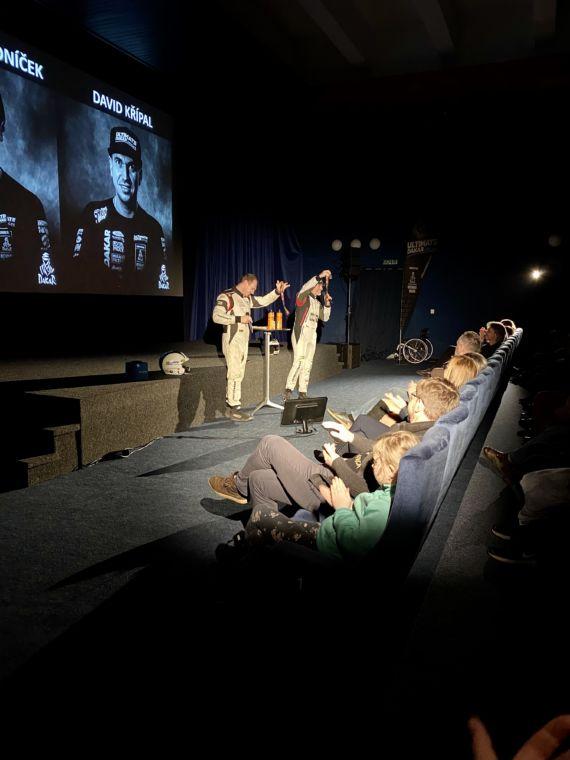 Obrázek galerie Velké Meziříčí ožilo Dakarem! Proběhla první talk show DAKAR Rychle a zběsile III.