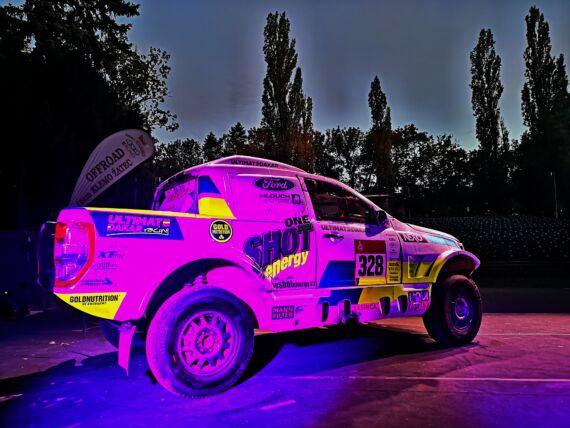 Obrázek galerie Dakarská show v Žatci a Tuning Motor párty ve Vyškově