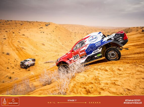 Obrázek galerie Dakar 2021: Stage 7
