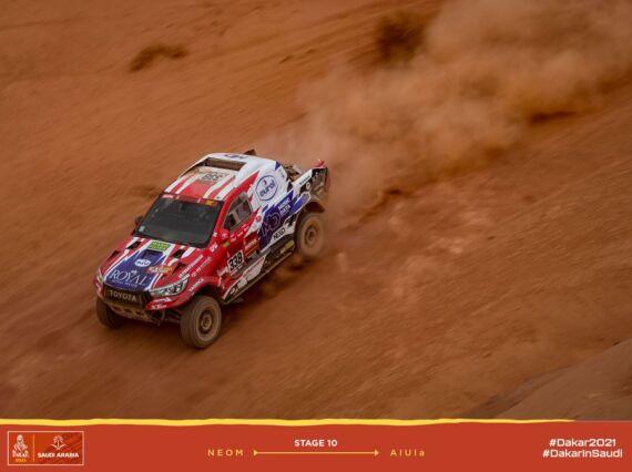 Obrázek galerie Dakar 2021: Stage 10