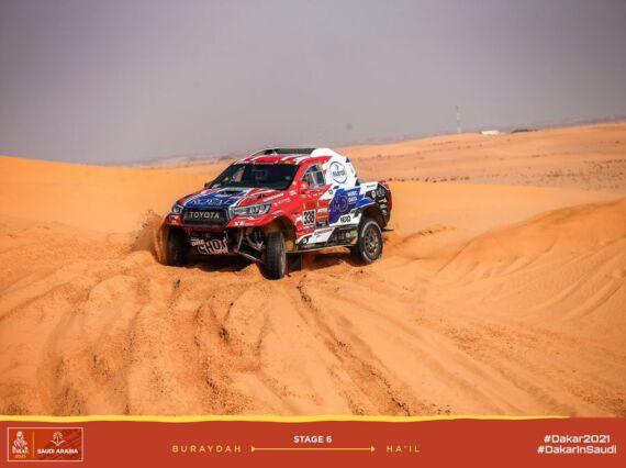 Obrázek galerie Dakar 2021: Stage 6
