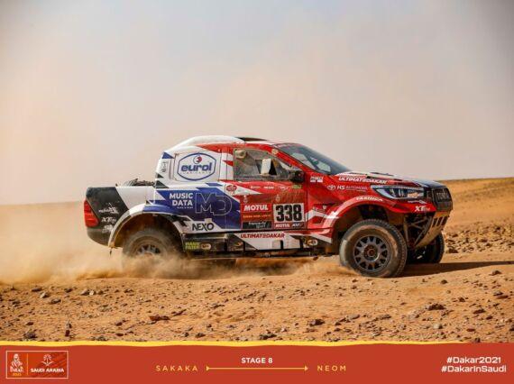 Obrázek galerie Dakar 2021: Stage 8