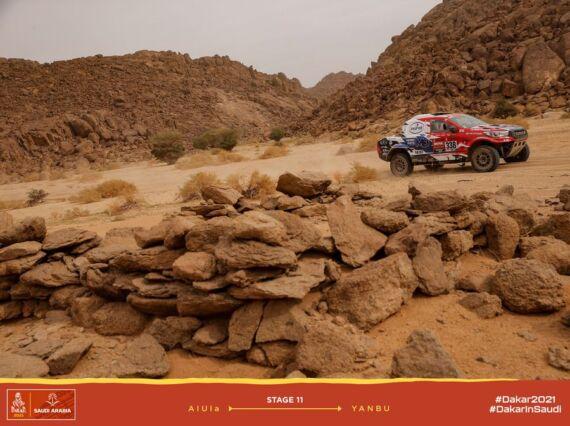 Obrázek galerie Dakar 2021: Stage 11