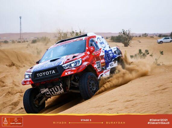 Obrázek galerie Dakar 2021: Stage 5