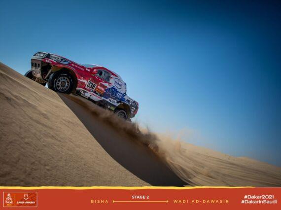 Obrázek galerie Dakar 2021: Stage 2