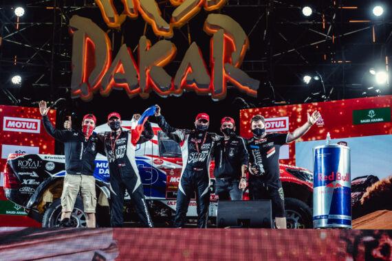 Obrázek galerie Dakar 2021: Stage 12 + Slavnostní rampa