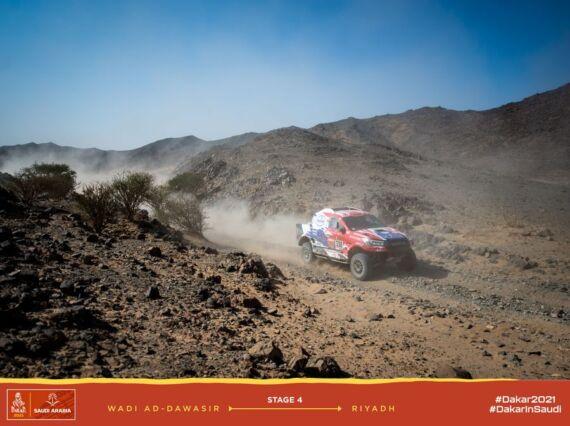 Obrázek galerie Dakar 2021: Stage 4